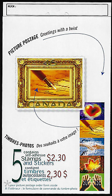 Canada Stamps - Booklet pane of 5 in Cover - Picture Postage #1853a (BK227) -MNH