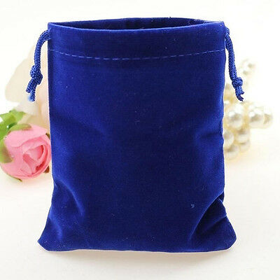 10Pcs Velvet Bags Favor Wedding Pouches Jewelry Packaging Gift Bags 7cm*5cm Hot