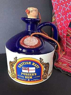 Old British Navy Pusser's Rum Jug …beautiful collection piece