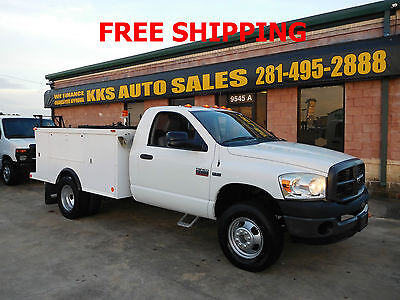 2008 Dodge Ram 3500 UTILITY TRUCK 2008 DODGE RAM 3500 HEAVY DUTY UTILITY TRUCK  HEMI LOW MILES FINANCING AVAILABLE