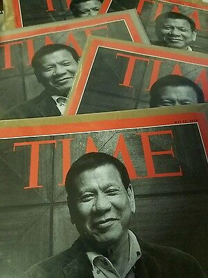 TIME Magazine May 2016 issue Rodrigo Duterte The Punisher Philippine President