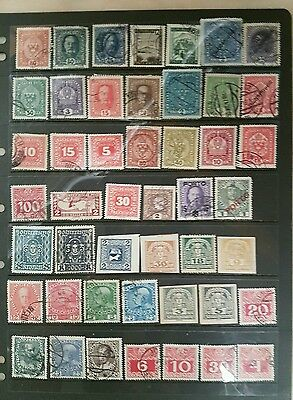 stamps  austrian - mint and used  - lot 6