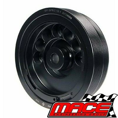 Powerbond 5% Race Overdrive Balancer Holden Commodore Vs-Vy S/chrged L67 3.8L V6