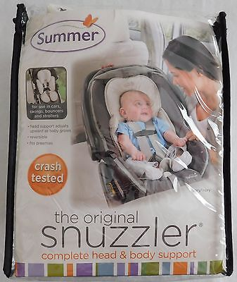Summer Infant The Original Snuzzler Infant Head and Body Support, Ivory