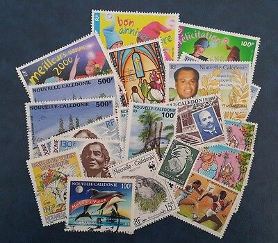Lot 20 Timbres Nouvelle Caledonie Obliteres