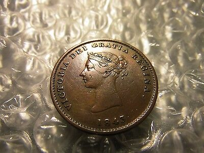 Canada 1843 New Brunswick Colonial 1/2 Penny Token