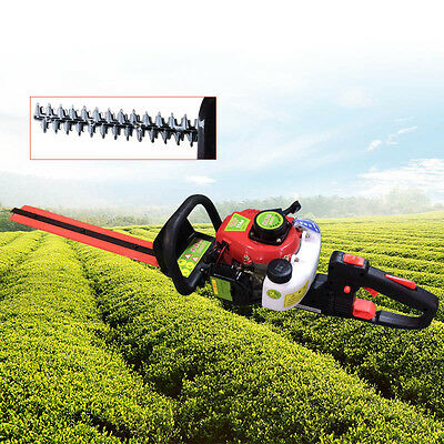 Garden Hedge Trimmer Petrol Powered Chainsaw Brushcutter Tool 0,9 KW 2-Stroke UK