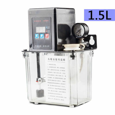 1.5L Automatic Electric Injection Molding Machine Gear Lubrication Pump 220V