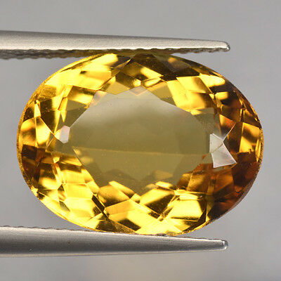 6.91 Cts Fancy Rare Top Quality Golden Yellow Color Natural Beryl Refer Video