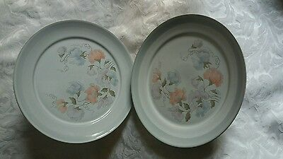 Denby Dauphine 10.35 inch dinner plates x 2