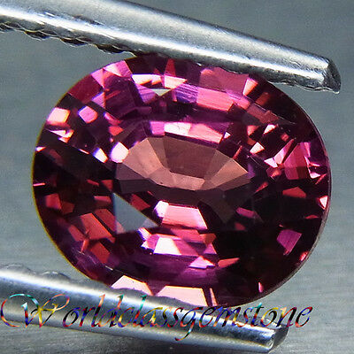1.30Ct Awesome Purple Natural Rodolite Garnet Oval