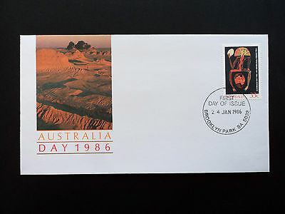 First Day Cover -    Australia Day 1986