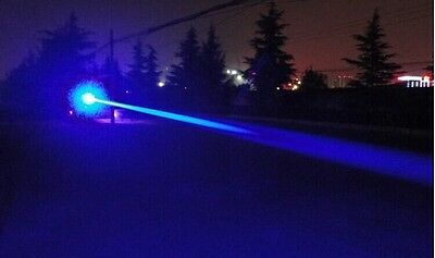 UK Blue Laser Pointer - 445nm actual blue beam  -- very bright blue