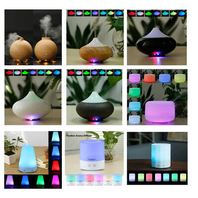 LED Essential Oil Ultrasonic Aroma Aromatherapy Diffuser Air Humidifier Purifier