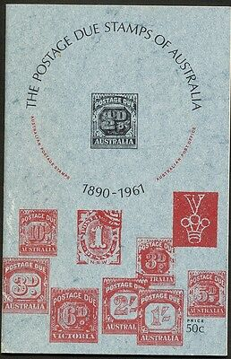 The Postage Due Stamps of Australia 1890-1961 Booklet