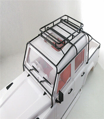 Roll Cage Luggage Tray For 1/10 RC Land Rover Defender D110 D130 JK 5 Doors Body
