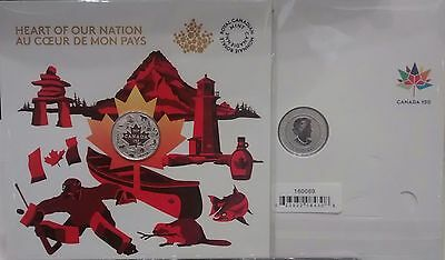 2017 Heart of Our Nation $3 Pure Silver Coin Canada's 150th