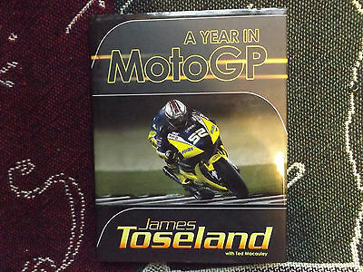 A Year In Moto Gp - James Toseland - 2008 Hb Dj Book