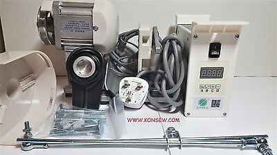 Speed Adjustable Energy Saving silent motor for industrial sewing machines.