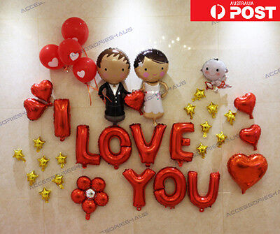 16 inch Foil Balloon Love Heart Wedding Engagement Party Home Decoration