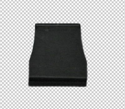 Solid Pull Tabs for Window Screens - Black - 50 Qty