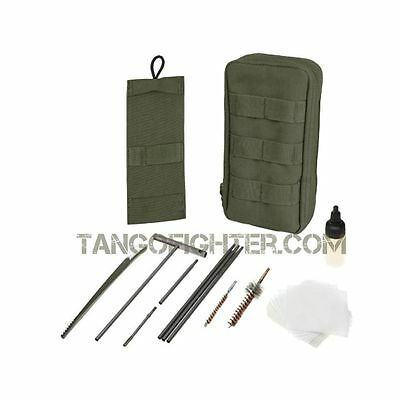 CONDOR #236 EXPEDITION MOLLE Tactical rods & brush Gun Cleaning Kit OD Green