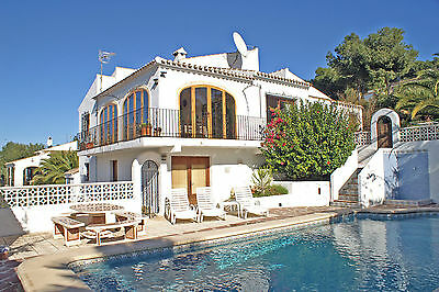 Villa Rental Javea Spain 2017 Private Pool UKTV WiFi A/C Sept 2nd to Sept 9th
