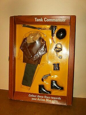 ACTION MAN VINTAGE PALITOY - TANK COMMANDER outfit carded MOC - 70's