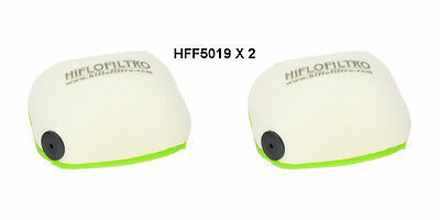 Ktm 125Sx Hiflofiltro Air Filter  Hff5019 Fits Years 2016 To 2018 X2