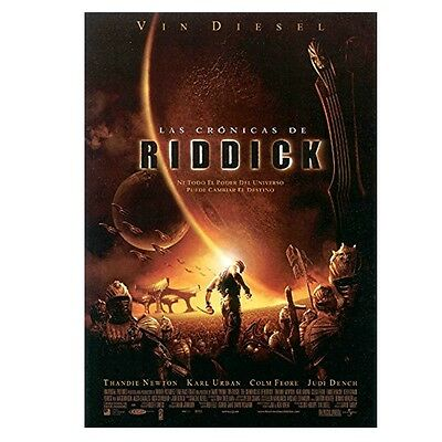 Las Cronicas de Riddick Director's Cut BluRay (SP)