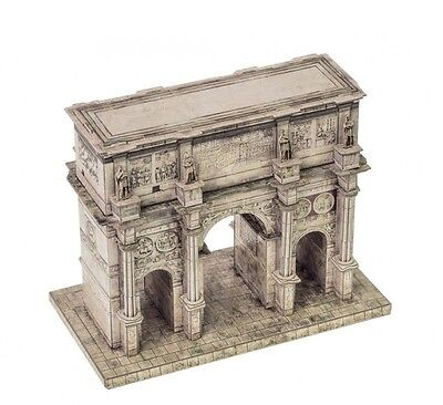 Cardboard model kit. Arch of Constantine in Roma.  1/180 scale.