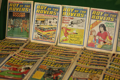 Roy of The Rovers Collection 1976,1977 & 1978
