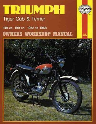 Triumph Tiger Cub and Terrier Owner's Workshop Manual 9780856964145