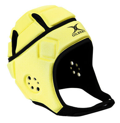 Clearance Line New Gilbert Rugby Attack Headguard Fluoro Small Boys