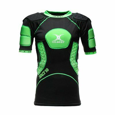 New Ex- Display Gilbert Rugby Xact 10 V2 Body Armour Large