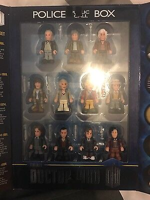 doctor who limited edition micro figurine set