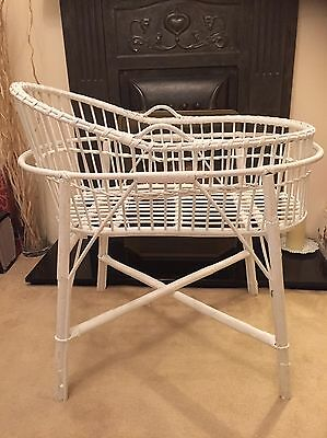 Moses Basket, With Mattress, Stand And Covers