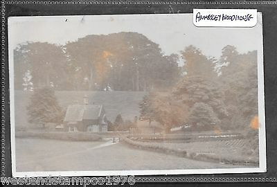 Nottinghamshire Ppc R/p Photographer H.g.owston. Annesley Woodhouse