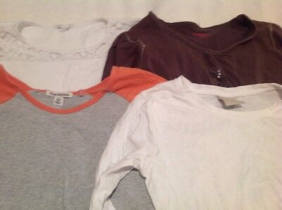 4 x size 10 Long Sleeved Top, Pumpkin Patch Charlie & Me