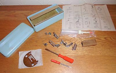 Vintage Brother 661 ? Sewing Machine Assorted Accessories. Foots, Bulb etc