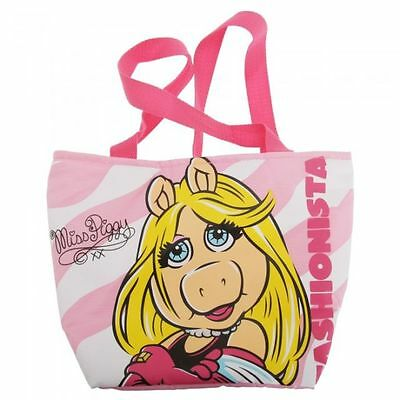 The Muppets - OFFICIAL MISS PIGGY INSULATED LUNCH BAG & DRINK WATER BOTTLE