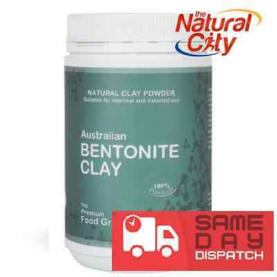 Australian Bentonite Clay Powder 250g FOOD GRADE - Same Day Dispatch