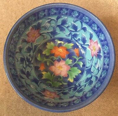 Stunning Vintage Chinese-Far Eastern Floral Bowl.