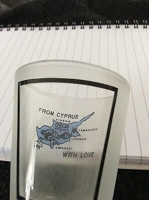 Shot glass from Cyprus