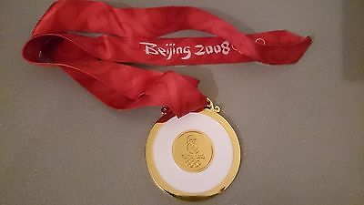 Goldmedaille Gold Olympia Olympische Spiele Medaille Peking Beijing 2008