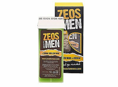 ZEOS Hair Removal Refill Roll On Wax for Men 100 ml  680569824028