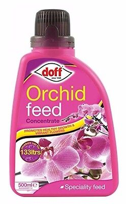 Doff Speciality Orchid Liquid Plant Feed Food Fertiliser Concentrate 500ml NEW