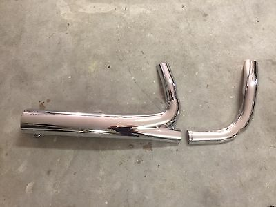 Indian 111 exhaust heat shield Chieftain, Vintage, Classic, Roadmaster