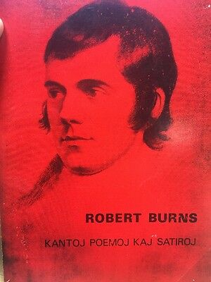 Robert Burns in Esperanto