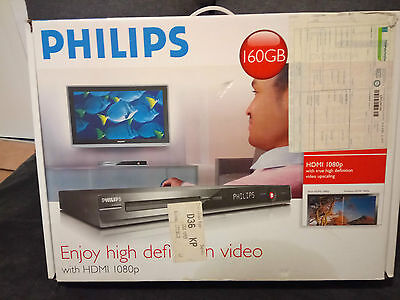 Philips DVDR 3575H HDD 160GB 1080p player